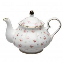 Rose Bud Round Teapot