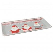 Santa Family 4 Piece Set Sandwich Trays