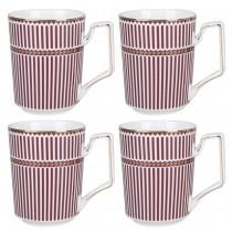 Palace Red Tea Mugs, Set of 4