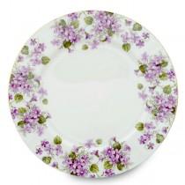 Violet Dessert Plates, Set of 4
