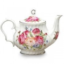 Sandra's Rose Tea Pot