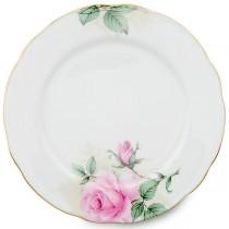 Rose Bouquet Dessert Plates, Set of 4