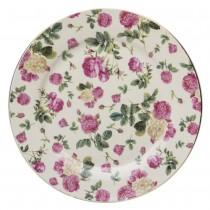 Pink Rose Bouquet Dessert Plates, Set of 4