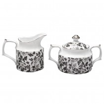 Black Jasmine Sugar Creamer Set