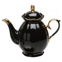 Black Gold Teapot