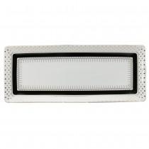 Black Gold Pin Dot Loaf Trays, Set of 2