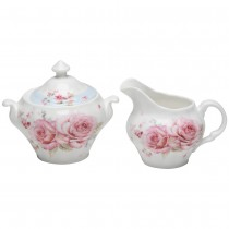 French Garden Sugar Creamer Set