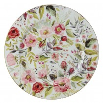 Floral Forest Salad Plates, Set of 4