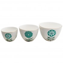 Dandelion 3 Pieces Pudding Bowl Set