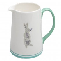 Grey Bunny Mint Pitcher