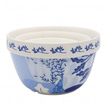 Tokyo Blue 3 Piece Mixing Bowl Set