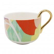 Tokyo Orange Mugs. Set of 4