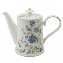 Blue Wild Floral Coffee/Teapot