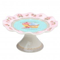 FLORAL PINK WEDDING CHOCALATE CAKE STAND