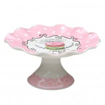 POLKA DOTS PINK PATISSERIES PARRIS CAKE STAND