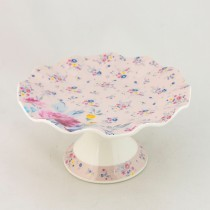 FLORAL PINK CAKE STAND