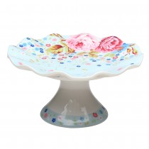 FLORAL Blue CAKE STAND