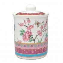 Peony Garden Canister
