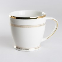 Pure Grace Footed Mugs, Set of 4