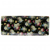 Dark Beauty 14-inch Rectangular Serving Trays, Set of 2