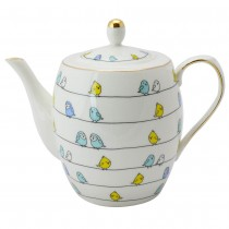 Birds Friends Teapot