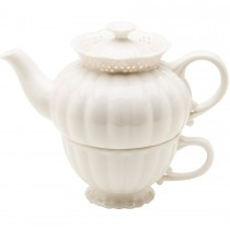 La Blanca 3 Piece Tea for One Set