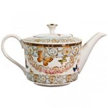Blue Butterfly Teapot