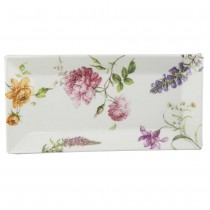Dahlia 12-Inch Rectangular Serving Tray