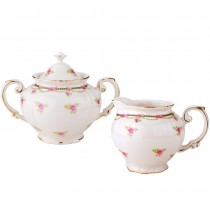 Petite Fluer Sugar and Creamer Set