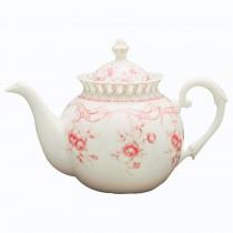 Pink Vine Teapot