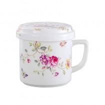 Purple Floral 3 Piece Tea for Me Set