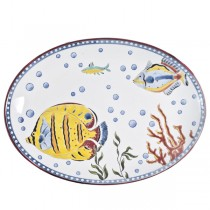 13-Inch Fred's Fish Oval Platter
