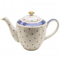 Blue Dots Teapot