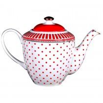 Red Josephine Teapot