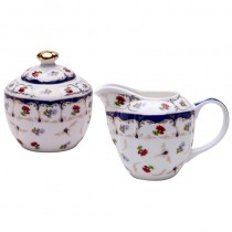 Chelsea Garden Sugar and Creamer Set