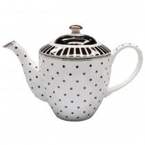 Black Josephine Teapot
