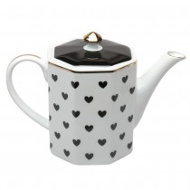 Black Heart Coffee Pot