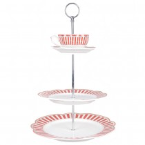Red Josephine 3 Tier Tray