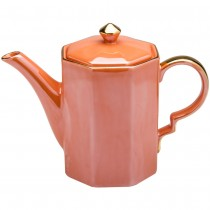 Luster Coral Coffee/Teapot