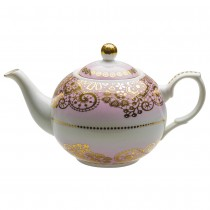Pink Lace Berry Teapot