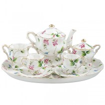 Madison's Garden 10 Piece Tea Set for Kids