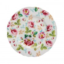 Pink Bloom Dessert Plates, Set of 4