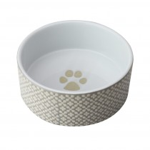 Fido's Diner Dog Bowl-Bark Black, Set of 2