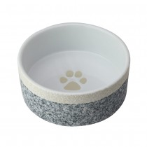 Fido's Diner Dog Bowl-Black, Set of 2