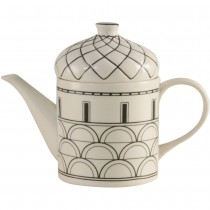Architecture Black Craft Teapot