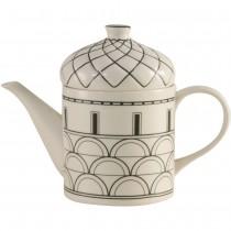 Architecture Black Craft Teapot