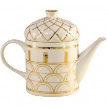 Architecture Gold Craft Teapot