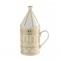 Architecture Gold Craft 2 pc Covered Mug Set