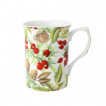 Pine Cone Can Mugs, Set of 4