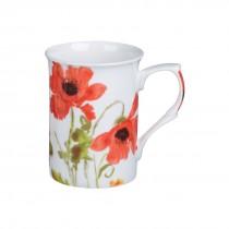 Wild Poppy Rose Can Mugs, Set of 4